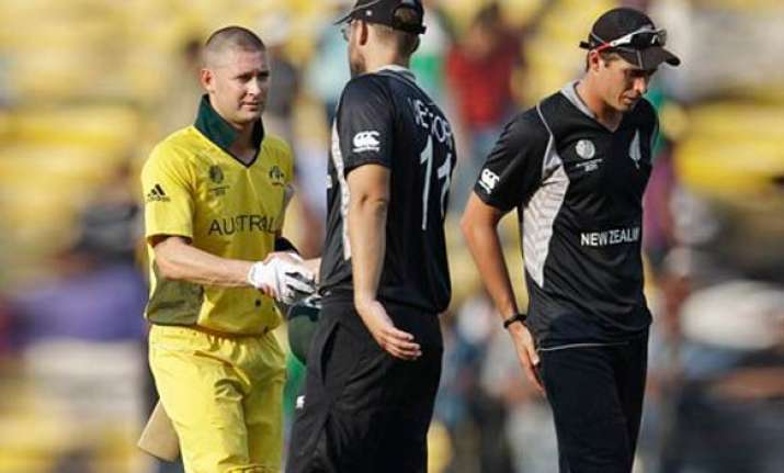 clinical aussies overcome new zealand by 7 wickets