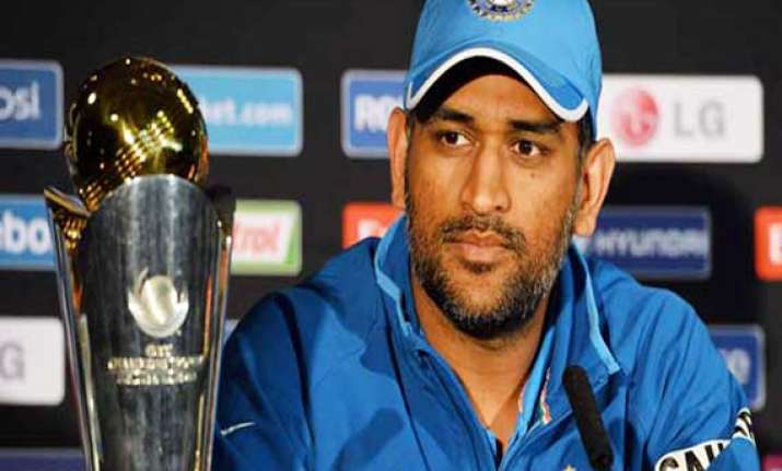 need to play good cricket and capitalise on it says ms dhoni