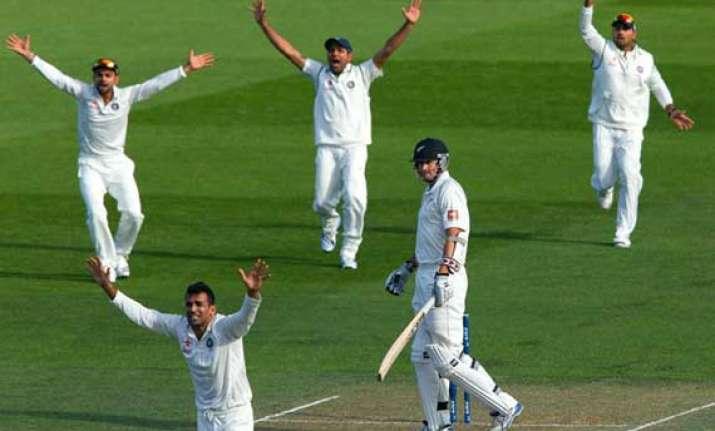 new zealand india scoreboard day 2 2nd test