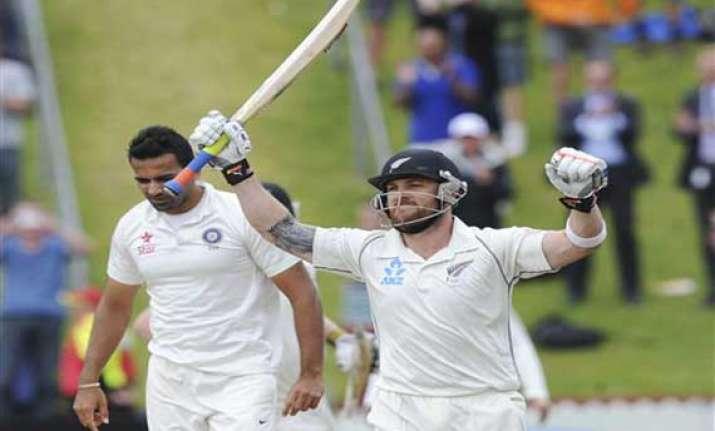 new zealand india scoreboard day 5 stump 2nd test