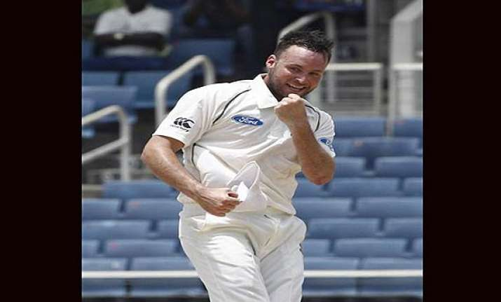 new zealand beat west indies by 186 runs in kingston test