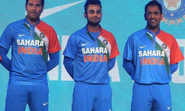 523c949d1 Nike launches new limited overs uniform for Team India