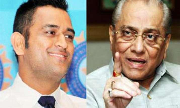 no coverup regarding dhoni assures dalmiya