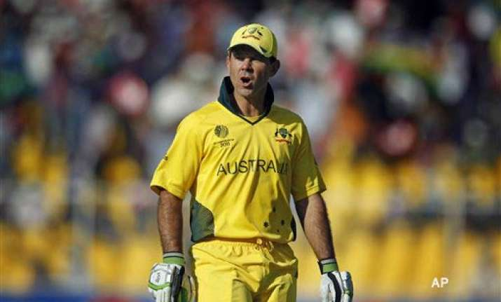 not a spectacular performance but a solid one ponting