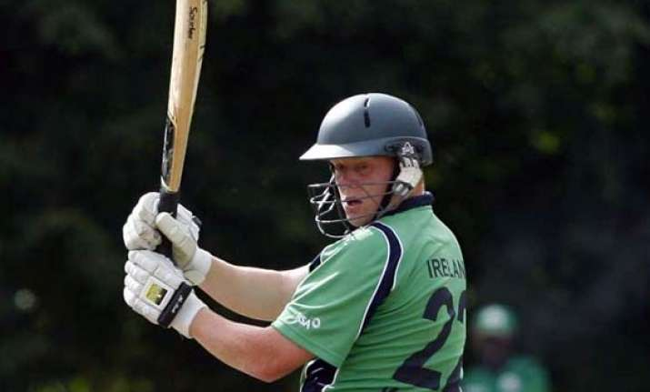 o brien guides ireland to 4 wicket win over zimbabwe