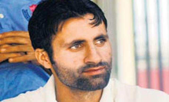 once charged for militancy kashmir s parvez rasool scores