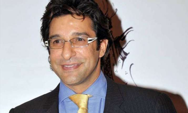 only one coach will do for pakistan says wasim akram