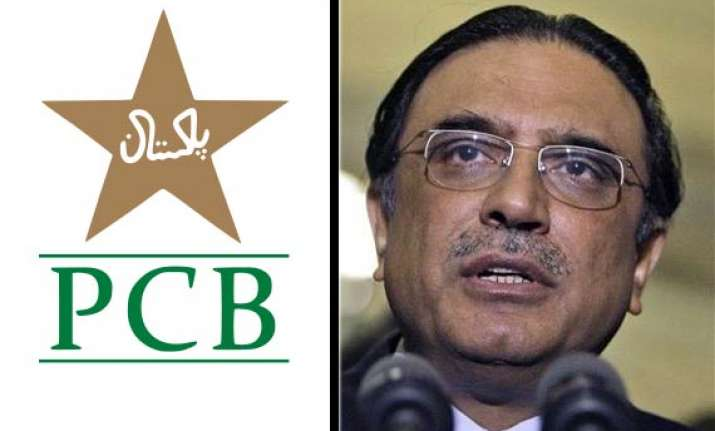 pcb refuses to remove president zardari as its patron