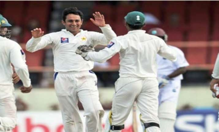 pak tightens grip on windies in second test