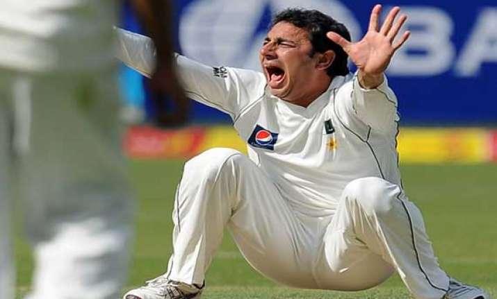 pakistan off spinner ajmal reprimanded