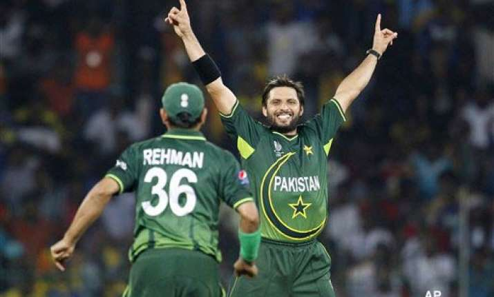 pakistan would come harder with each game afridi