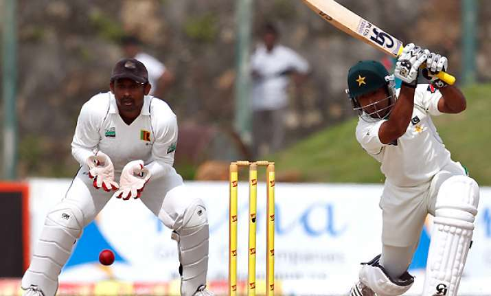 pakistan reaches 108 4 on day 4 vs sri lanka