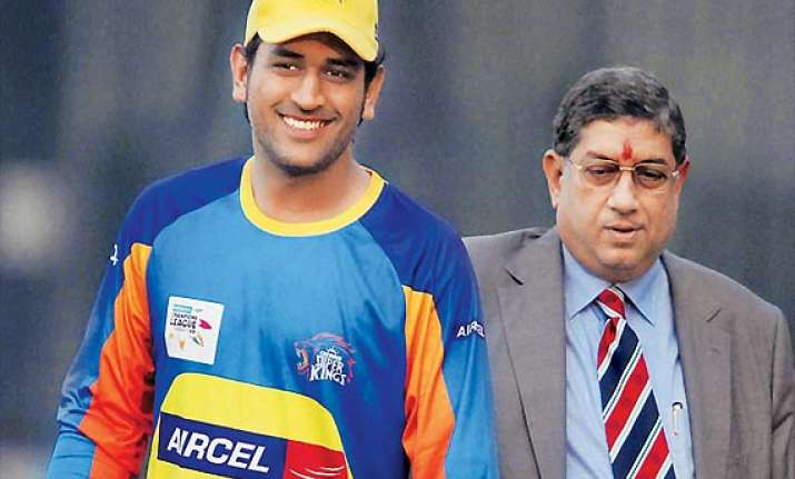 people are jealous of csk because we have dhoni srinivasan