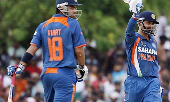 champions trophy kohli karthik centuries help india beat