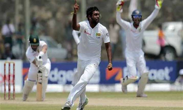 perera spoils south african recovery in 2nd test