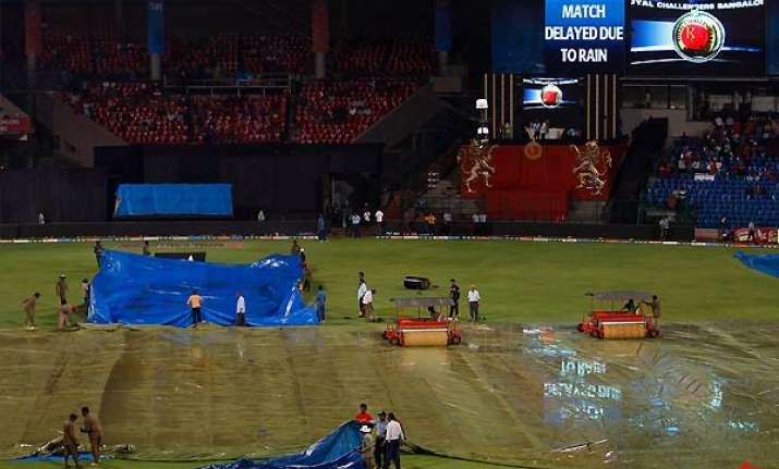 persistent rain washes out rajasthan rcb match