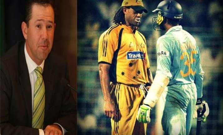 ponting throws light on bhajji symmo incident in his