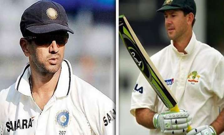 ponting is still a great player dravid