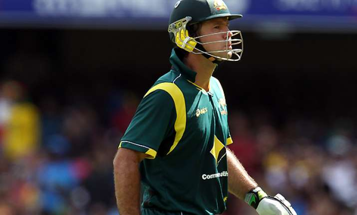 ponting retires from odis to continue playing tests
