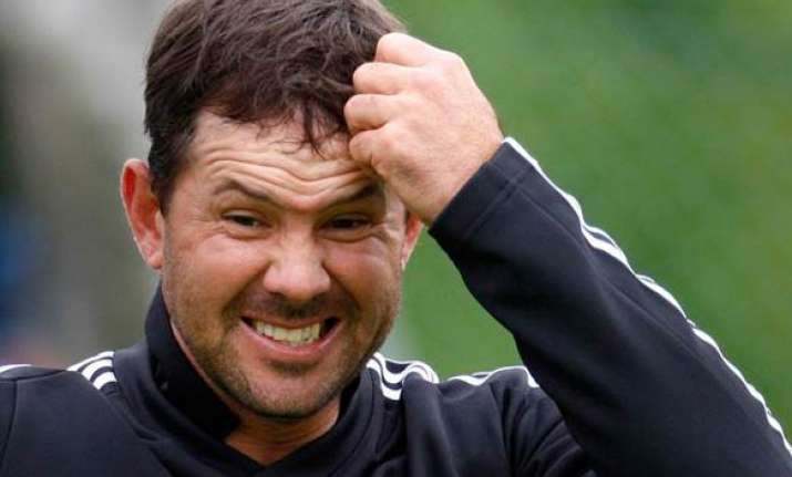 icc reprimands ponting for motera dressing room incident
