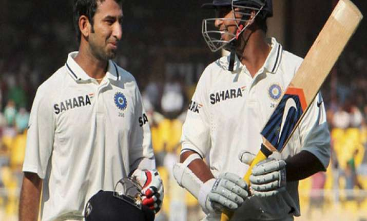 pragyan ojha cheteshwar pujara on the rise in icc test