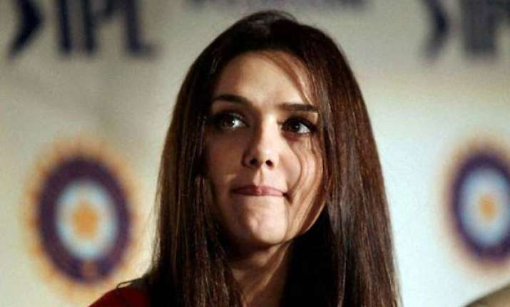preity rubbishes rumours of selling her ipl team