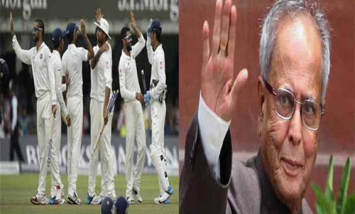 president congratulates indian team for lord s victory