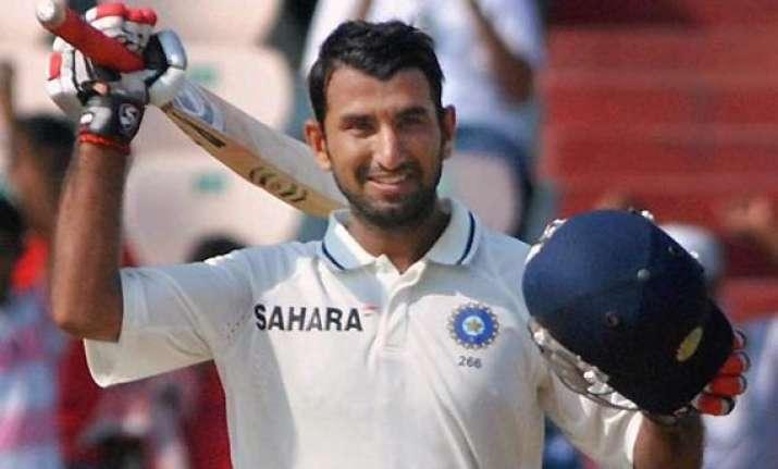 pujara triple ton puts india a on verge of victory