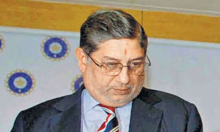 questions raised on srinivasan s role in ipl