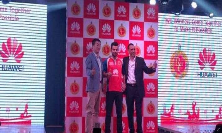 rcb name huawei india as principal sponsor