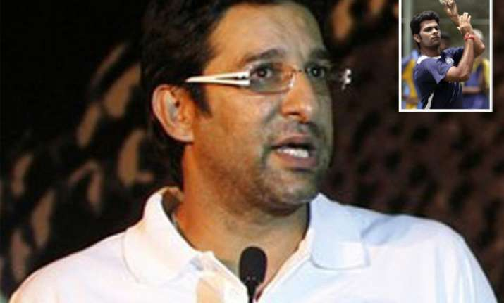 rp singh s inclusion in odi squad is baffling akram