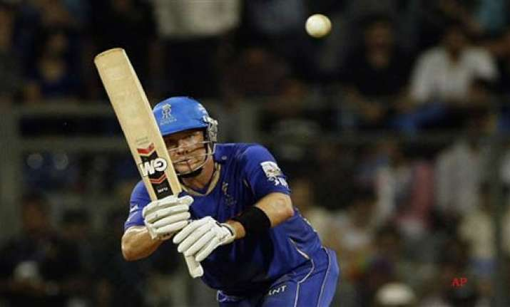 rr beat mi by 10 wickets give perfect send off to warne