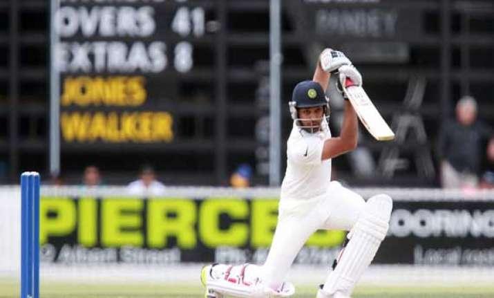 rahane thanks dravid tendulkar after maiden test ton