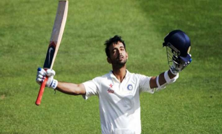 rahane turned to ex customs official for big match