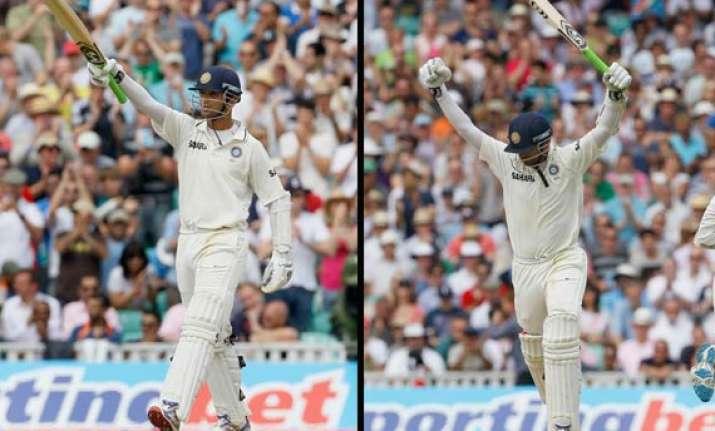 rahul dravid cracks his 35th test ton surpasses gavaskar