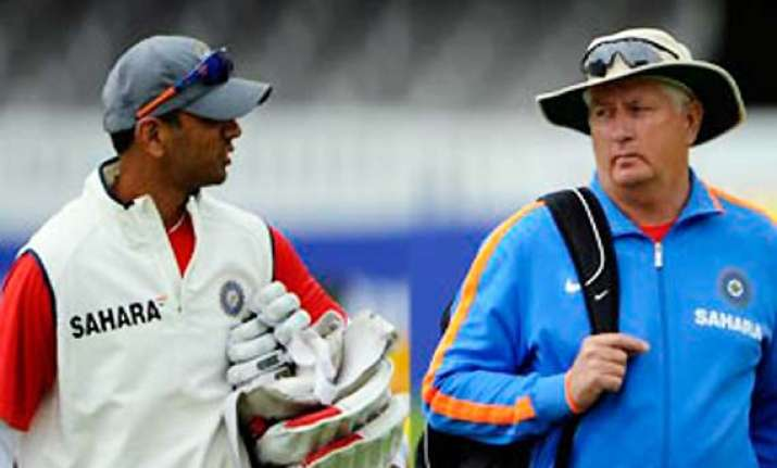 rahul dravid wants duncan fletcher to be given more power