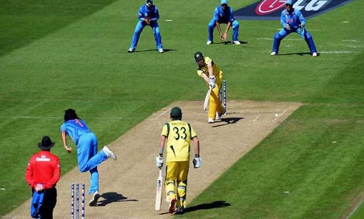 rain may play spoilsport in india australia 5th odi