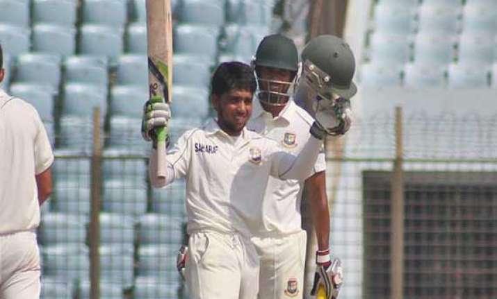 rains play spoilsport as bangladesh nz 2nd test draw