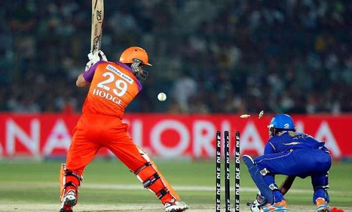 rajasthan royals beat kochi tuskers kerala by 8 wickets