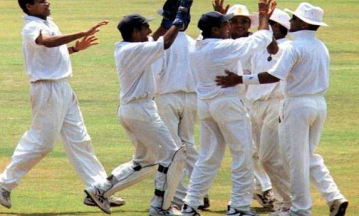 ranji trophy delhi mumbai pile on the runs