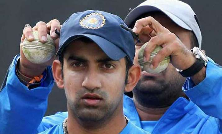 ready to captain india test team says gambhir