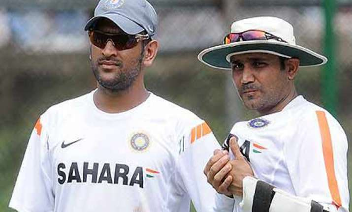 rift in team india as sehwag emerges as a counter to
