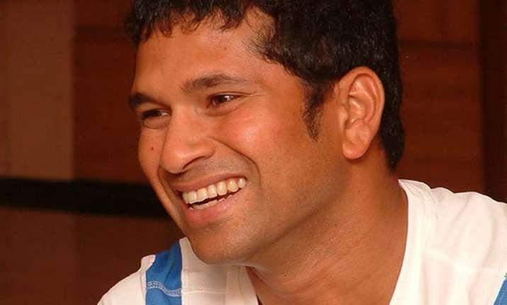 sachin tendulkar voted cricketer of the generation.