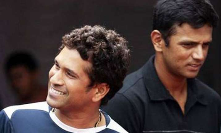 sachin is already a bharat ratna for public says dravid
