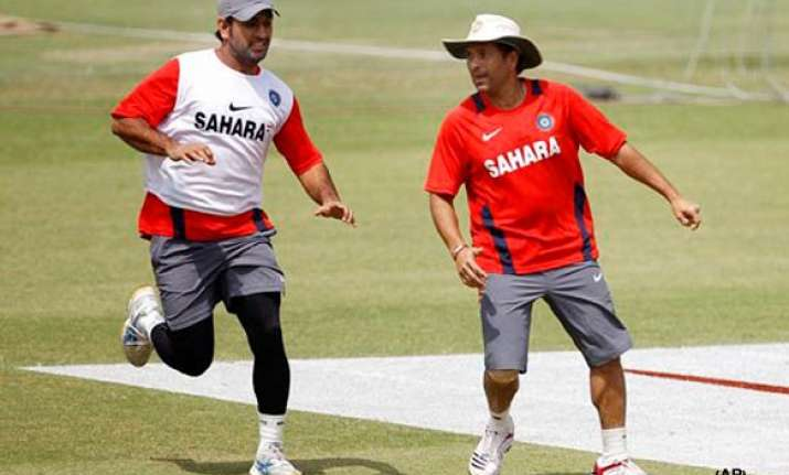 sachin will have a good night sleep and be at his best dhoni