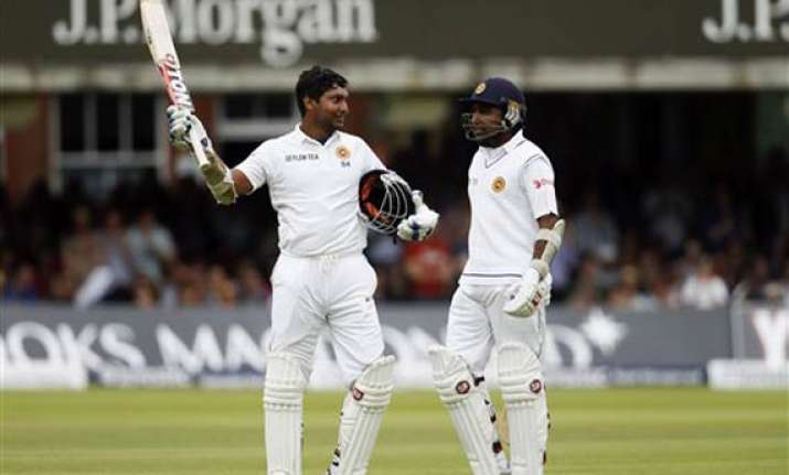 sangakkara ton leads sri lanka to 415 7 on day 3