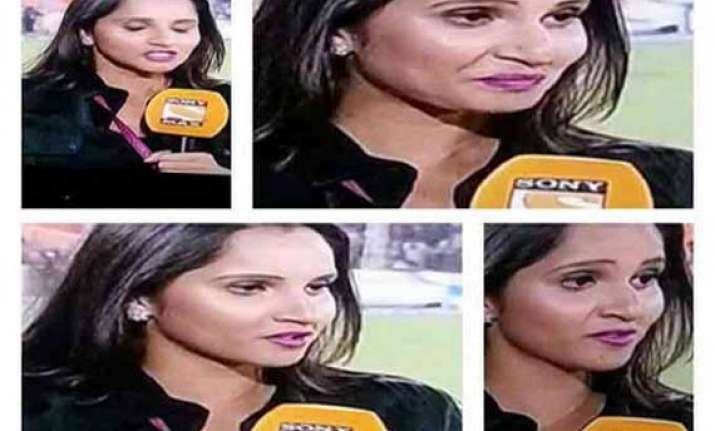 sania mirza s lipstick was the only bright spot in srh