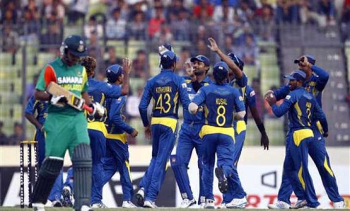 second odi sangakkara hits 17th ton lankans beat bangladesh
