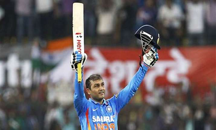 sehwag overtakes sachin to become world s highest scorer in