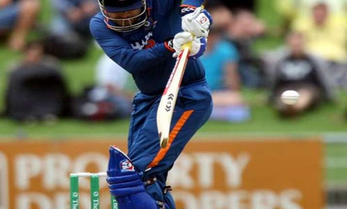 sehwag hit on ribcage expected to be fit for england match